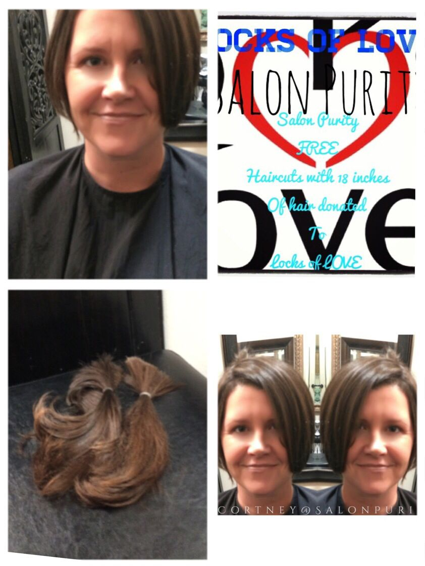 Pin On Locks Of Love 18 Inches Or More
