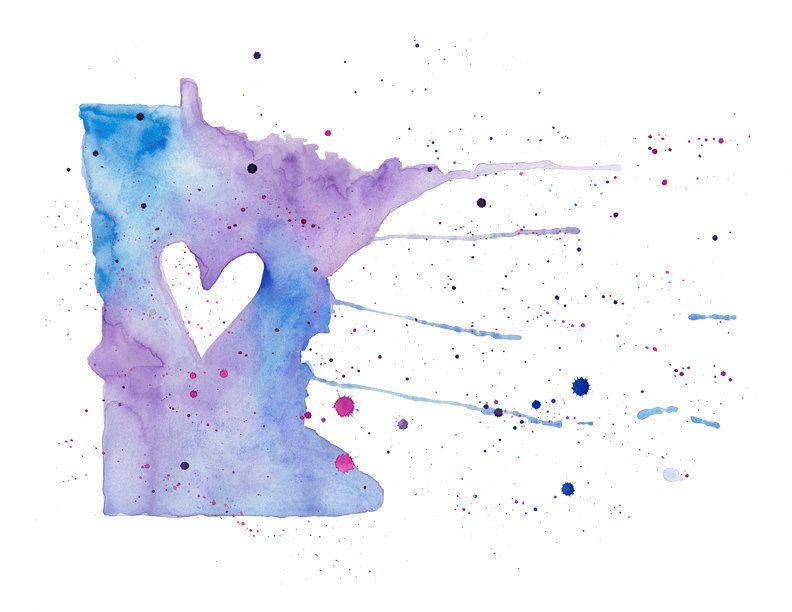Minnesota Love. $20.00, via Etsy.