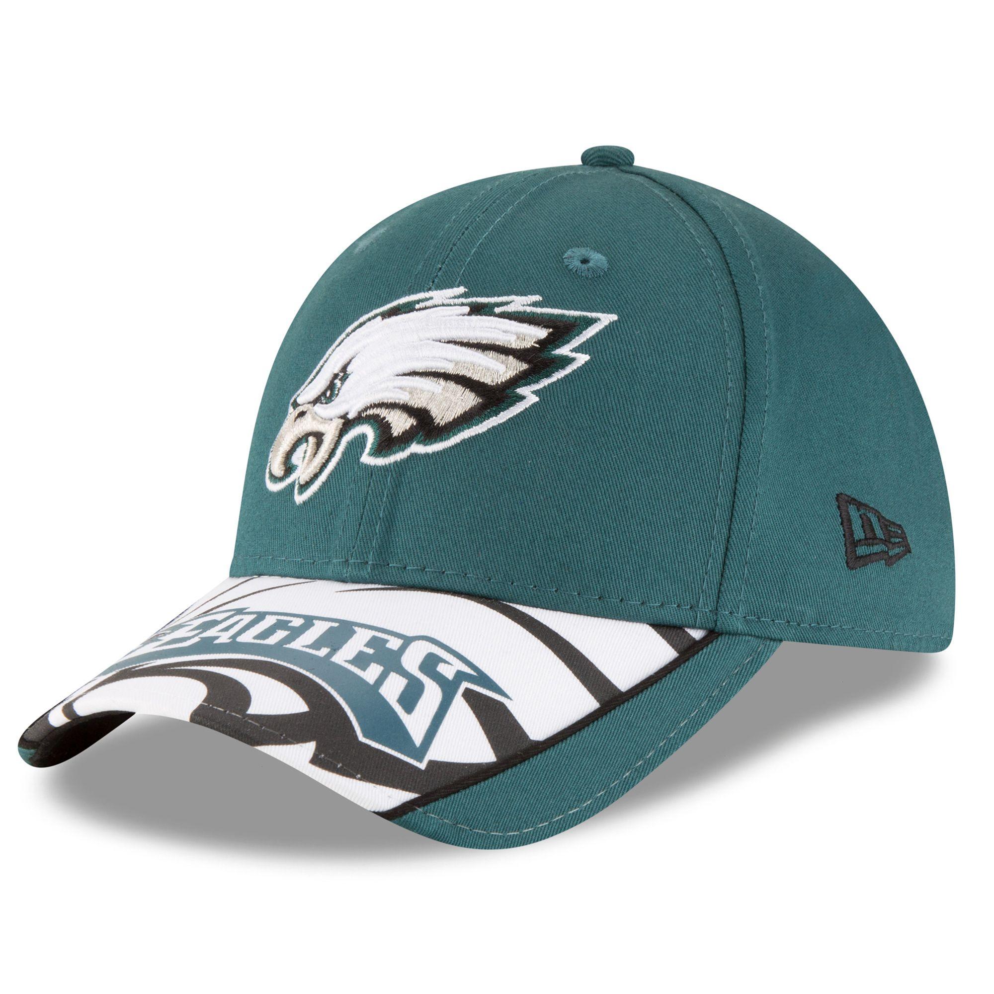 aef2d1ce NFL Philadelphia Eagles New Era Logo Scramble 9FORTY Adjustable Hat ...