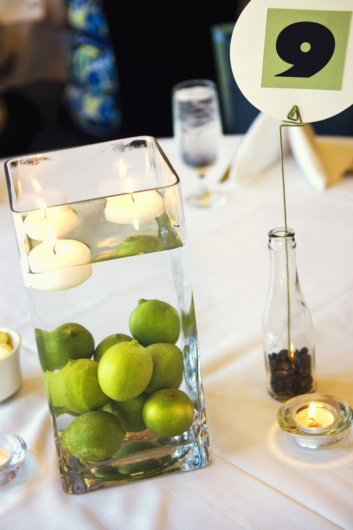 Unique Centerpieces, Weddings | Pinterest | Centerpieces, Lime ...