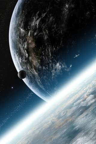 Outer Space Android Wallpaper Hd N Universo Planeta Tierra Tierra