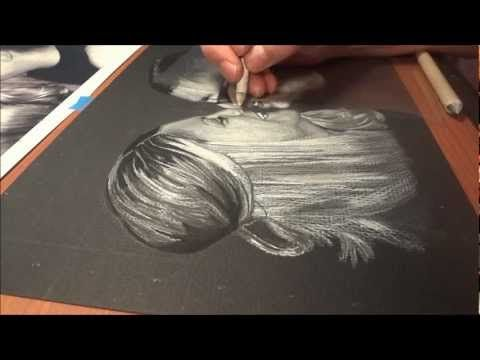 "Speed Drawing ""Robert Marquez & Katie Bell"" - HD - http://www.7tv.net/speed-drawing-robert-marquez-katie-bell-hd/"