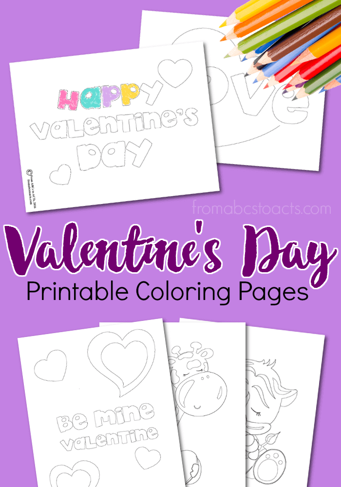 Printable Valentine Coloring Pages Kid Blogger Network Activities