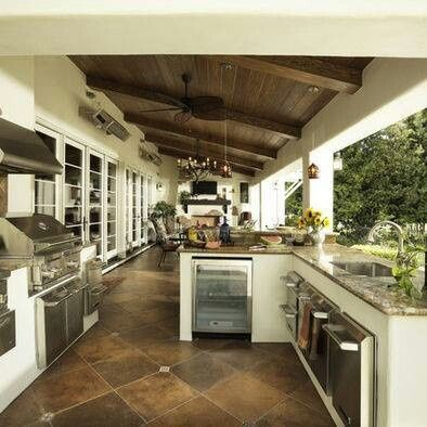 Cool 100 Outdoor Kitchen Designswwwbest100Homed  Kitchen Amusing Outdoor Kitchen Pictures Design Ideas Inspiration Design
