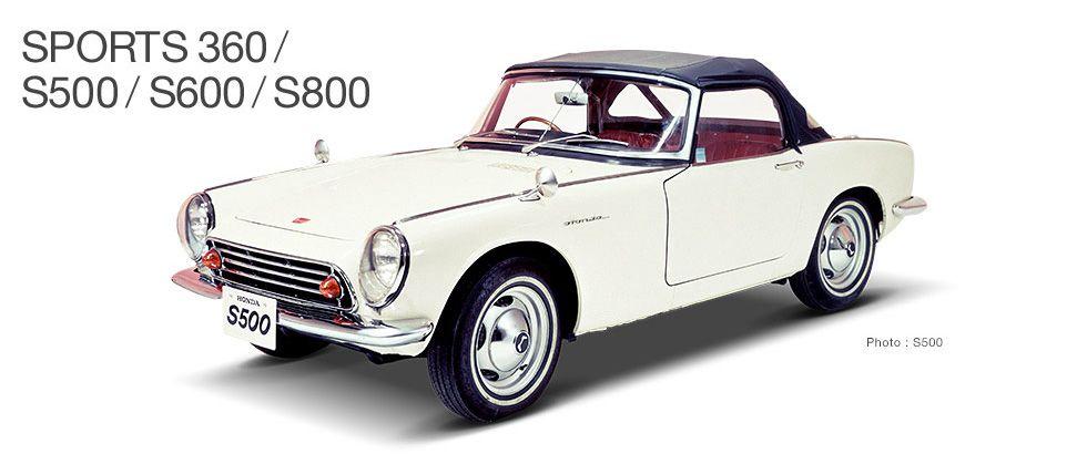 SPORTS DRIVE WEB|Honda Sports Cars|SPORTS 360/S500/S600/S800
