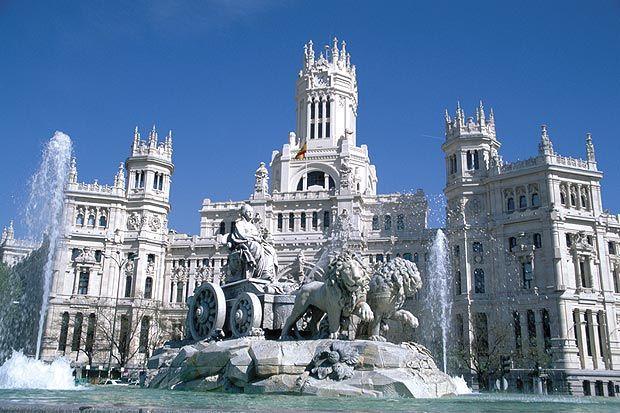 Palacio De Comunicaciones Madrid Correos Y Telegrafos