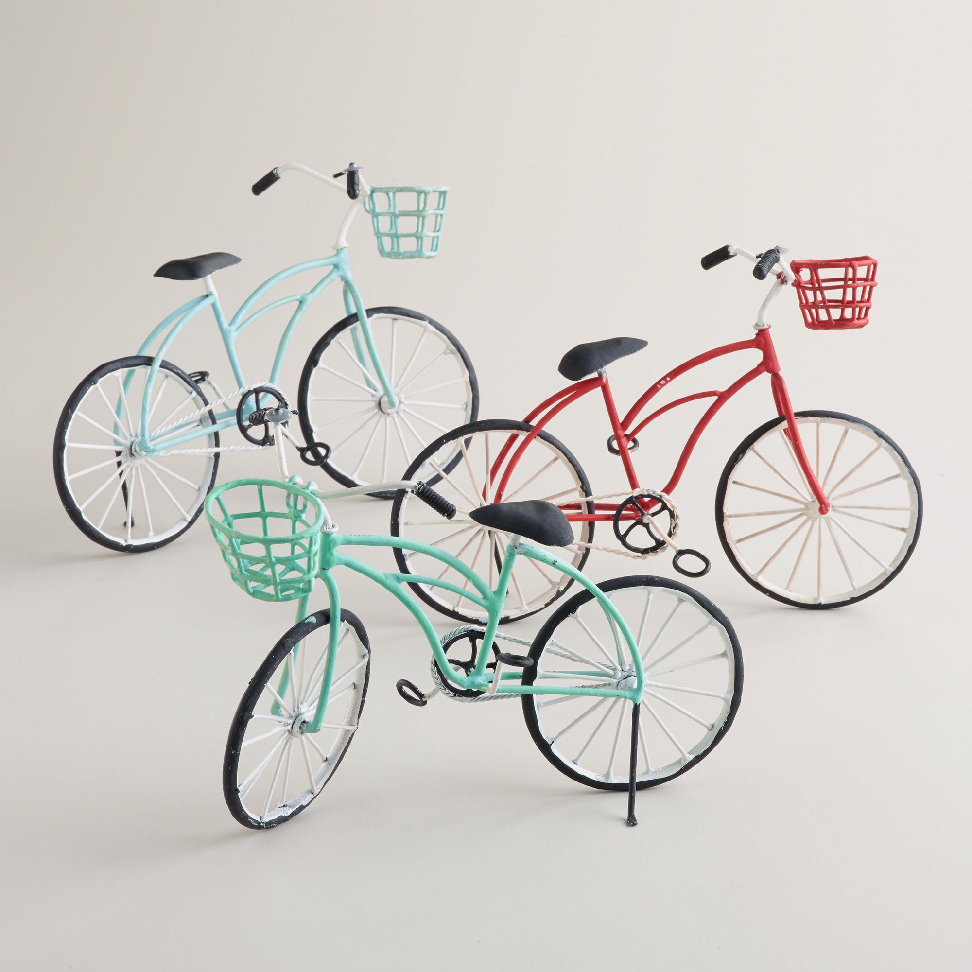 Metal Bicycle Decor Set Of 3 World Market Bicycle Decor Bike