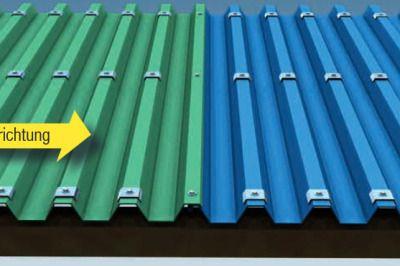 Montage Dach Trapezblech, Trapezblech dach und Trapez