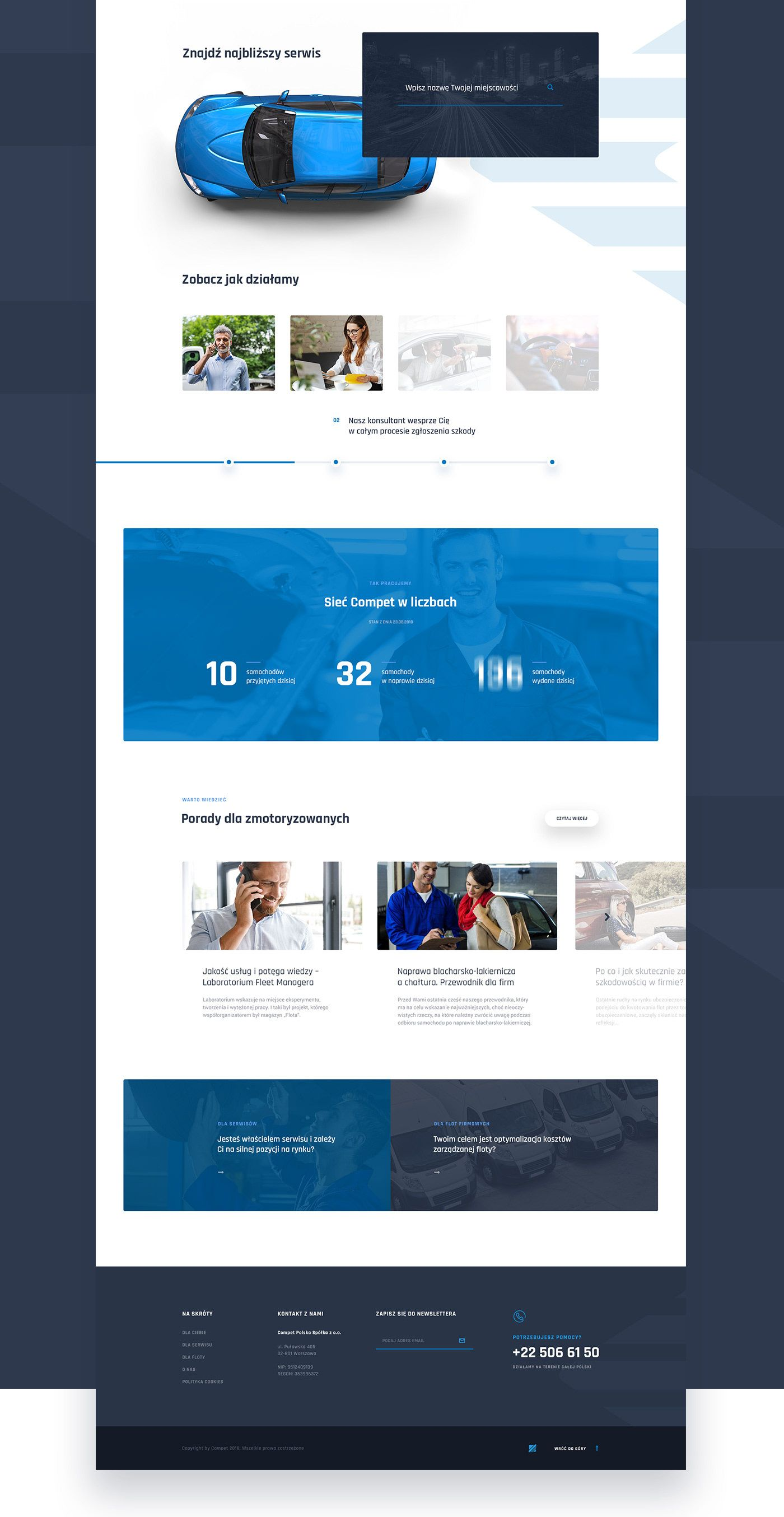 Compet Network Of Car Services On Behance Blog Themes Wordpress Design Your Own Website Web Design