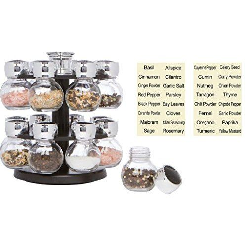 Organic Spice Rack Captivating Amazon Gneiss Spice Everything Spice Kit 24 Magnetic Jars Inspiration Design