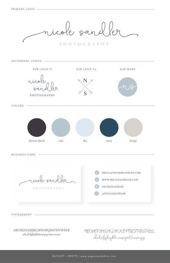 Nicole Premade Branding / Exclusive Branding Package