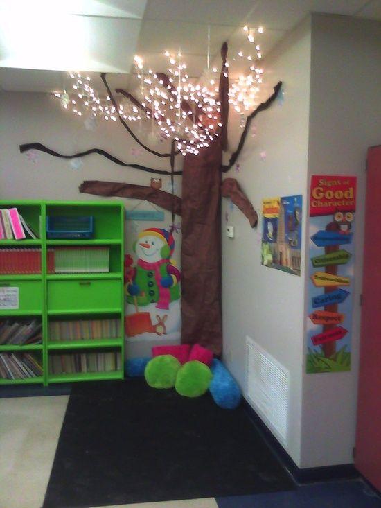 Reading Classroom Design Ideas ~ Light up reading corner idea bulletin boards pinterest