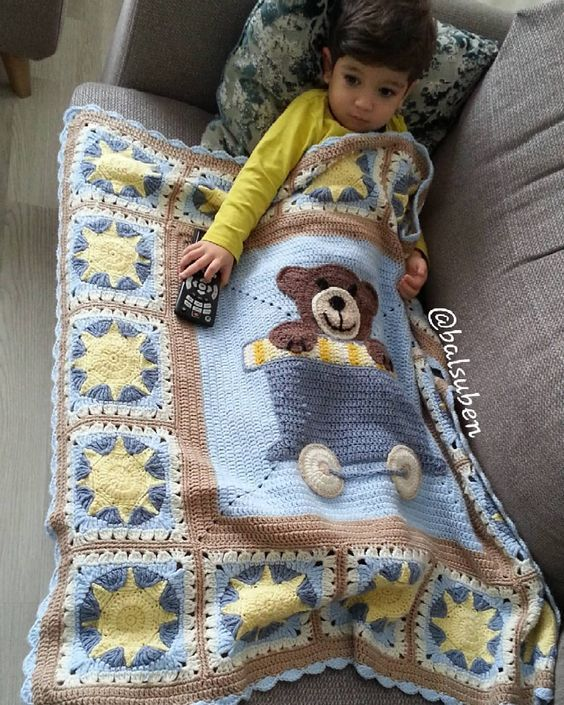 Free Crochet Baby Blanket Patterns for Beginners 2019 #babyblanket