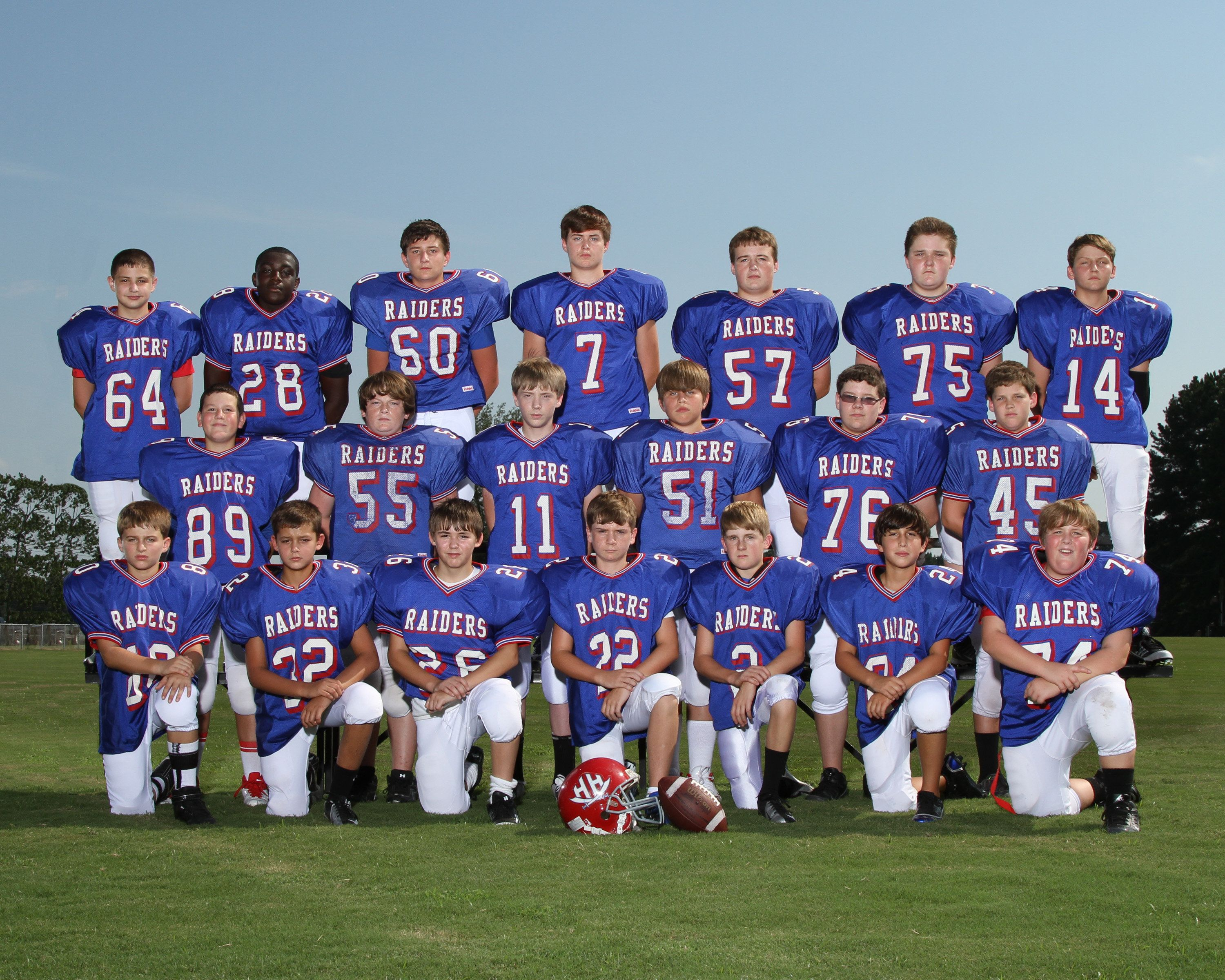 Football Team And Individual Pictures Holly Hill Academy Home Of