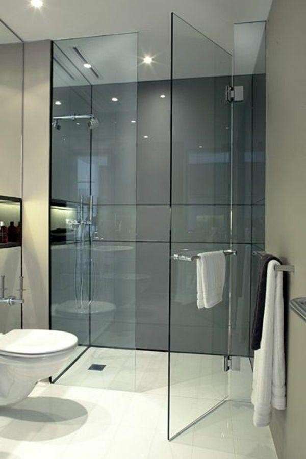 Une salle de bains grise - élégance et chic contemporain - Archzine - Salle De Bain Moderne Grise