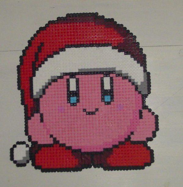 kerstmis Kirby strijkkralen