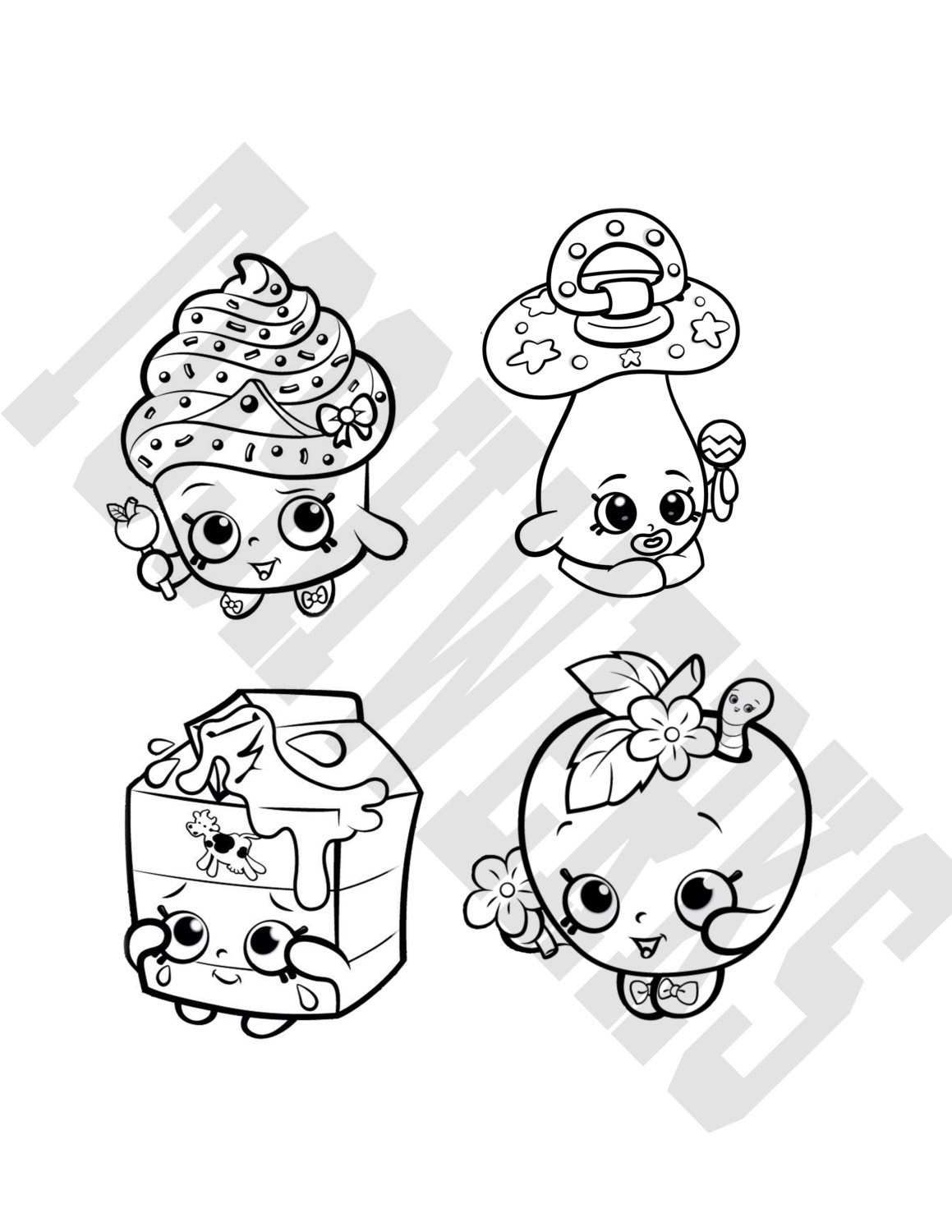 Shopkins Coloring Pages Spilled Milk Printable 5 4477 Shopkins Split Milk Coloriage Dessin Shopkins Colouring Pages Coloring Pages Free Coloring Pages
