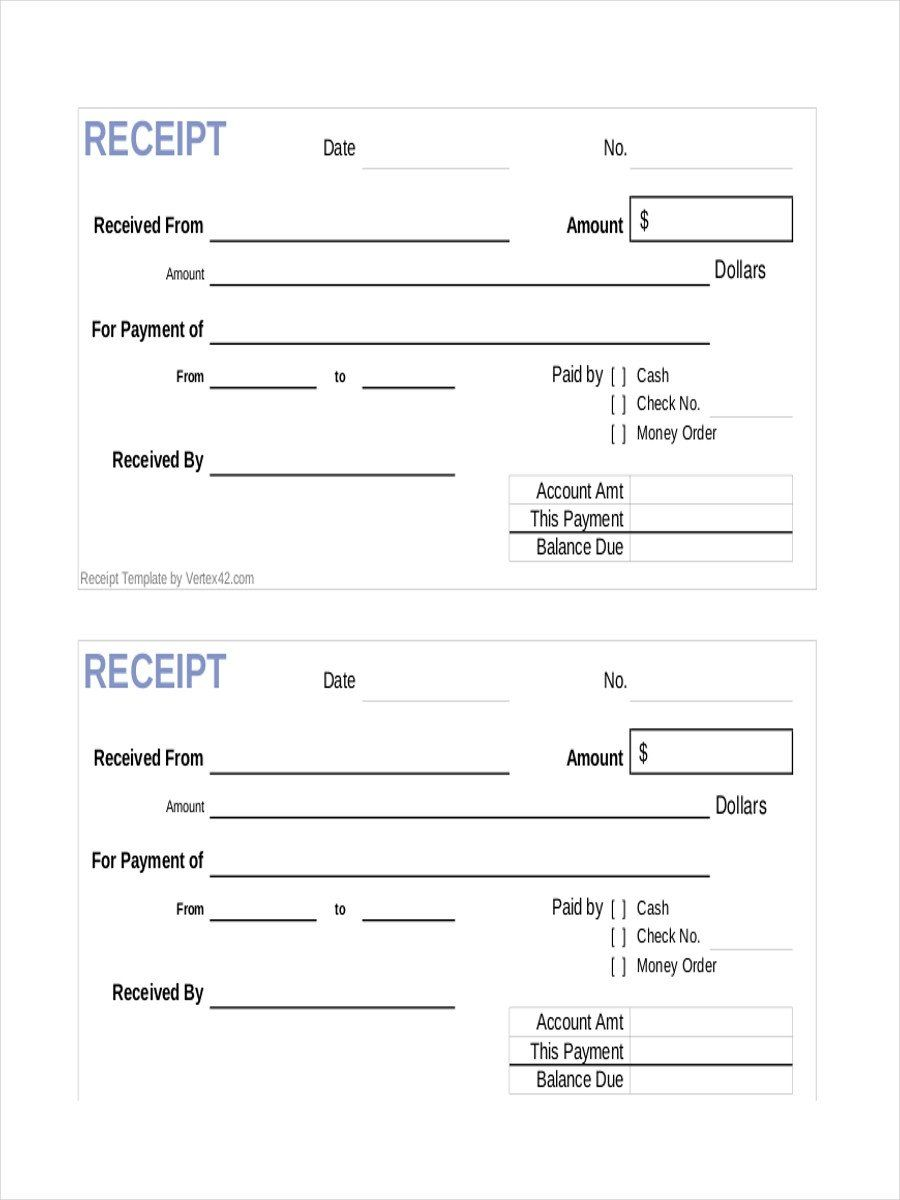 Payment Receipt Format In Word New Free 10 Payment Receipt Examples Samples In Google Docs Receipt Template Free Receipt Template Receipt