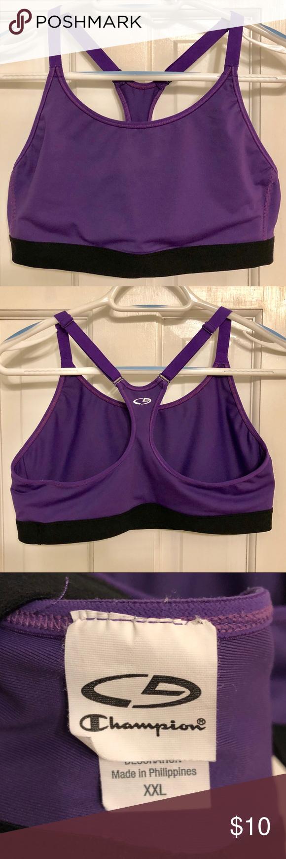 EUC C9 by Champion Sports Bra in Bright Purple C9 by