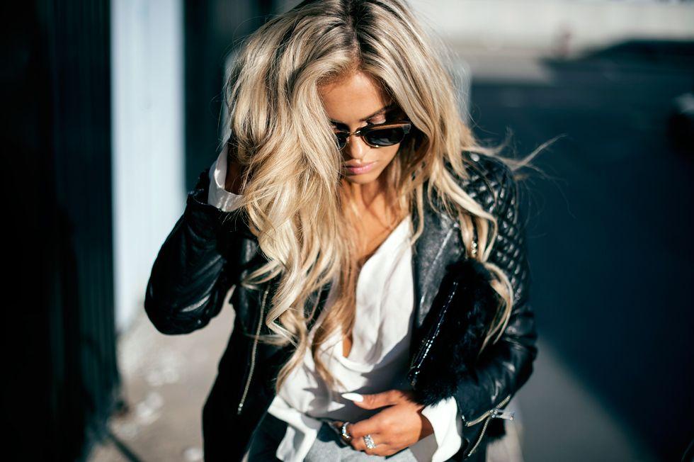 Дерзкие девушки на аву блондинки