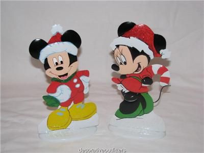 disney mickey mouse pre lit window decor 2 10 metal christmas outdoor christmas decorationsdisney
