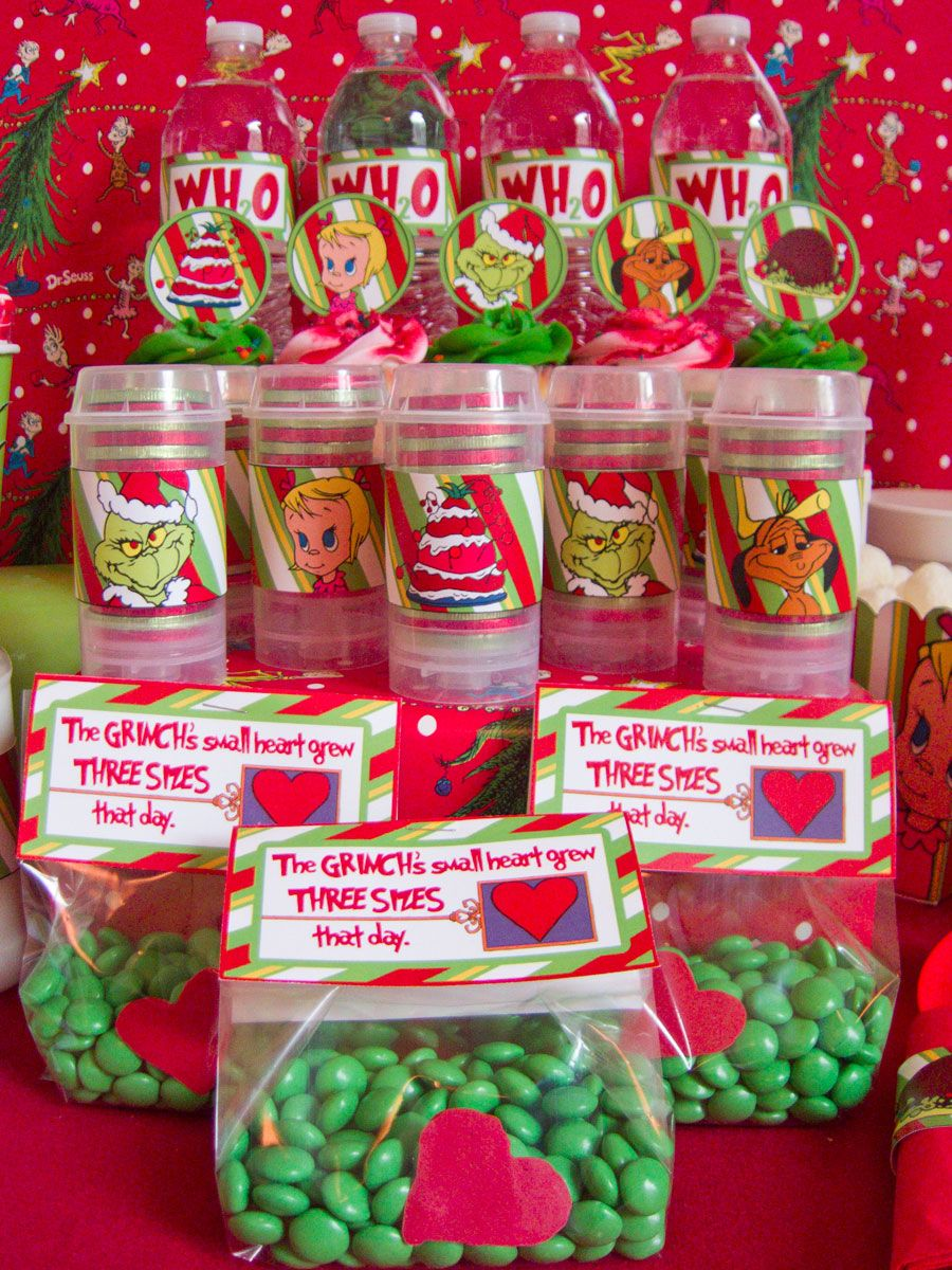 Grinch Christmas Party Decorations How The Grinch Stole