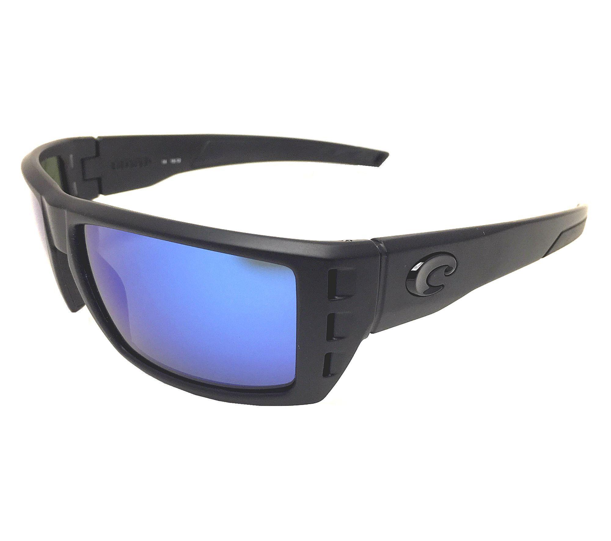 17fc9eca79 Costa Del Mar Rafael 580G Blackout Blue Mirror Polarized Sunglasses ...