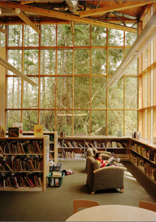 Maple Valley Library | Cutler Anderson Architects. Maple Valley, Washington 2001