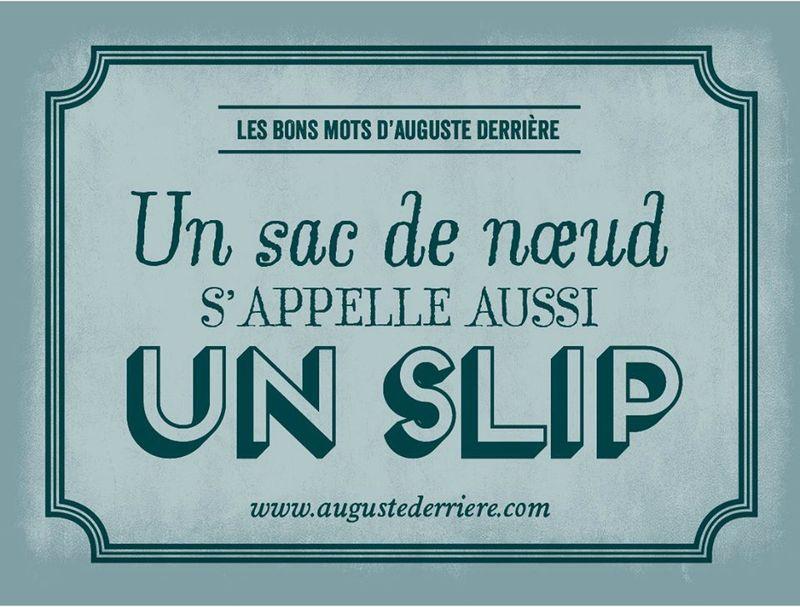 Gut gemocht Noeud et slip | humour | Pinterest | Auguste, Derriere et Mots KO62