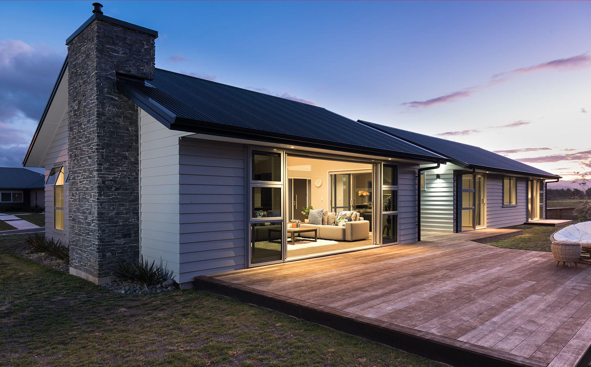 Best Gable Style Roof With Colorsteel Corrogate Longrun Endura 640 x 480