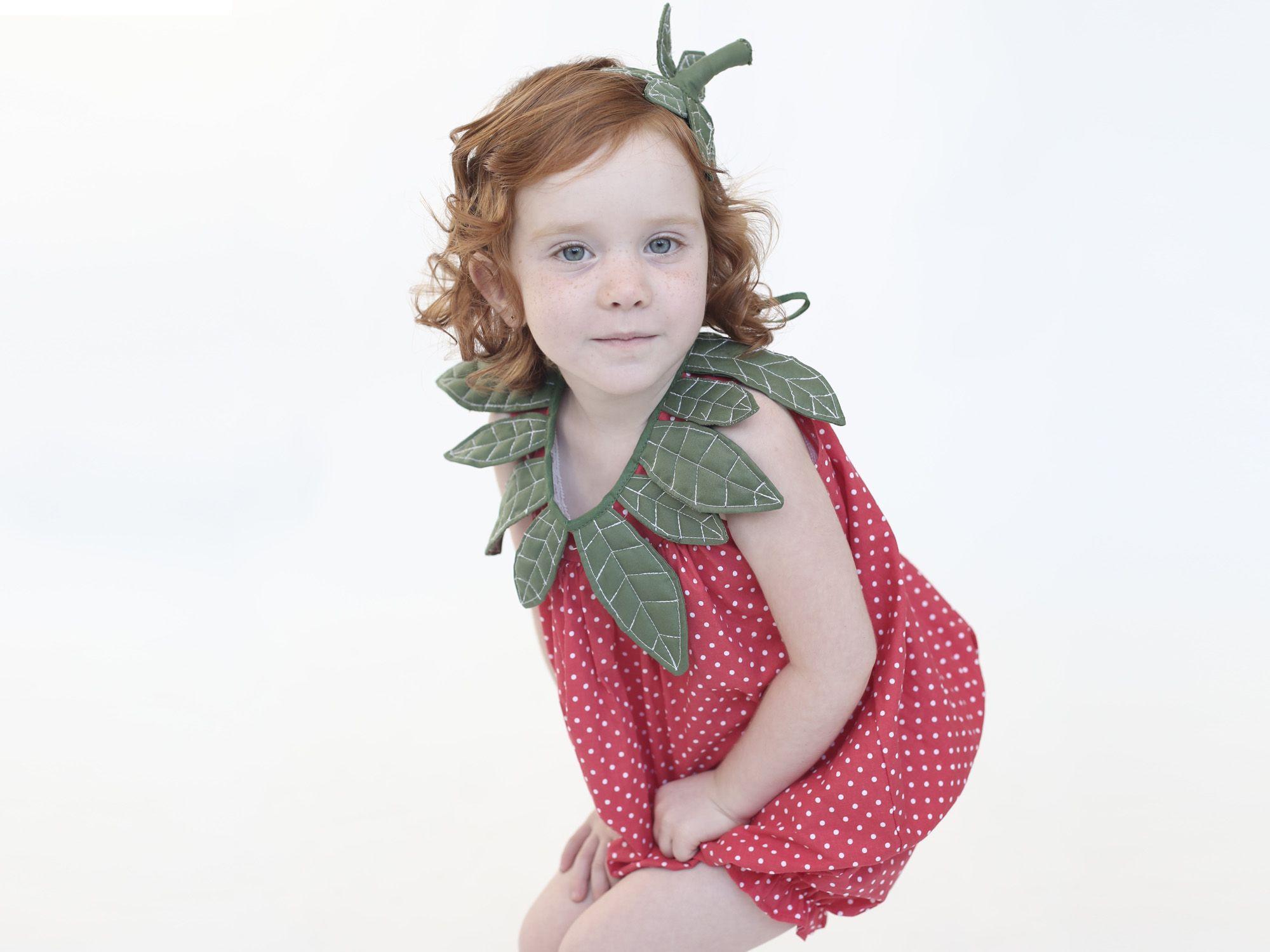 תות מתוק לגיל 1-2 |תחפושות לילדים| תחפושת לילדה | Inbal Carmi (לשעבר ...