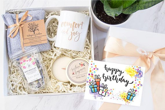 Birthday Spa Gift Box Mom From Son Daughter