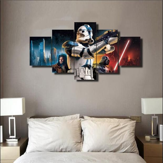 Clone Troopers Of Star Wars Star Wars Canvas Art Panelwallart Com Star Wars Canvas Art Starwars Canvas Star Wars Canvas Print