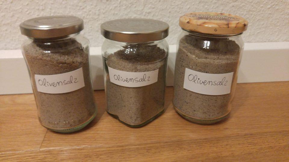 Geschenke aus der Küche Olivensalz selber machen! Rezept und - geschenke für die küche