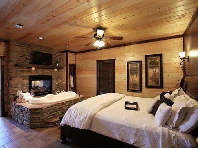 Honeymoon Luxury Cabin 1 Br 2b W Jacuzzi Homeaway Broken