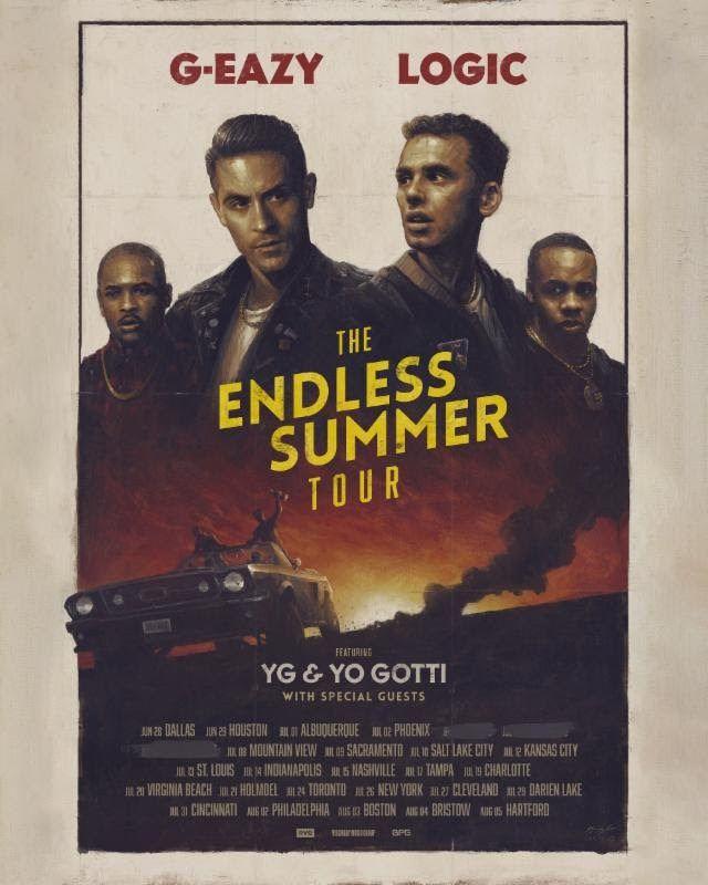 G Eazy Logic Announce The Endless Summer Tour Hear Itsee It