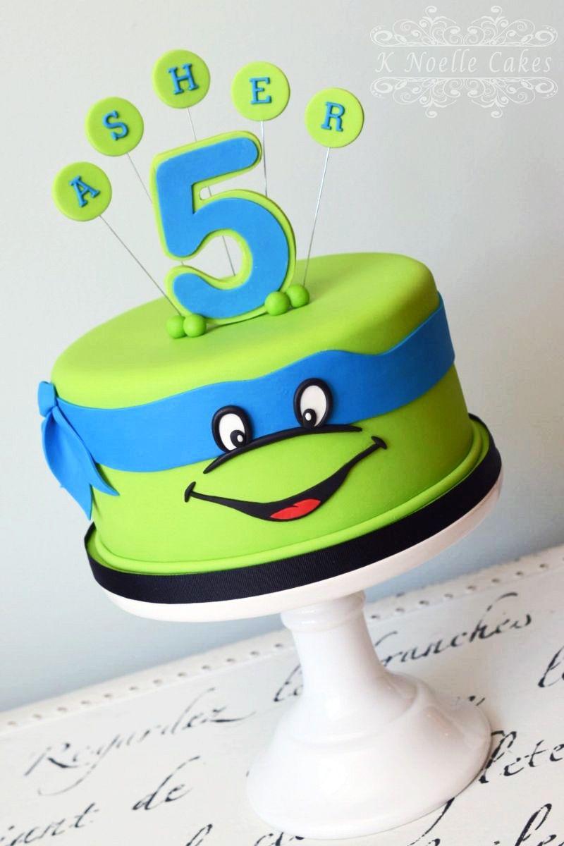 Magnificent Tmnt Cake By K Noelle Cakes Ninja Turtle Birthday Cake Turtle Personalised Birthday Cards Paralily Jamesorg