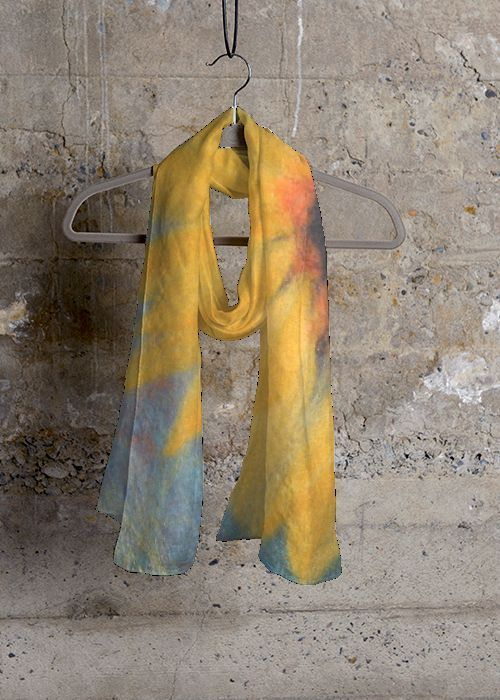 Cashmere Silk Scarf - Construction by VIDA VIDA