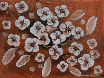 Acrylbild Blumengruß 30x40x2cm, 49€ + Versand