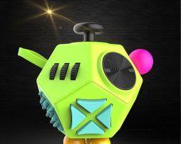 12 Sided Anti Stress Magic Fidget Cube Cube Toy Kids Toy Gifts Fidget Cube