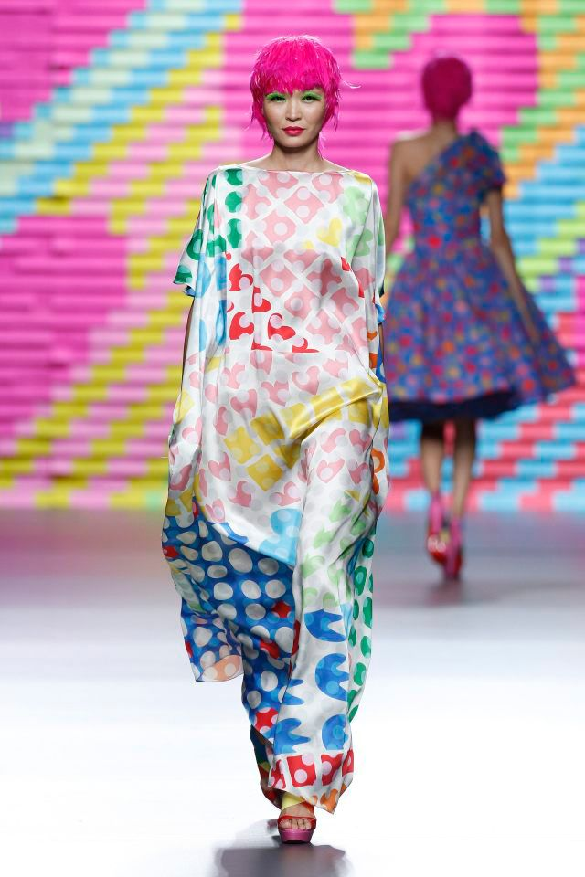 AGATHA RUIZ DE LA PRADA Ready-to-wear Spring Summer 2015 Madrid - CATWALK PHOTO