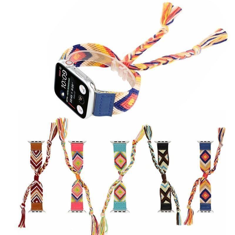 The Boho Friendship Bracelet Apple Watch Bands Apple Watch 1