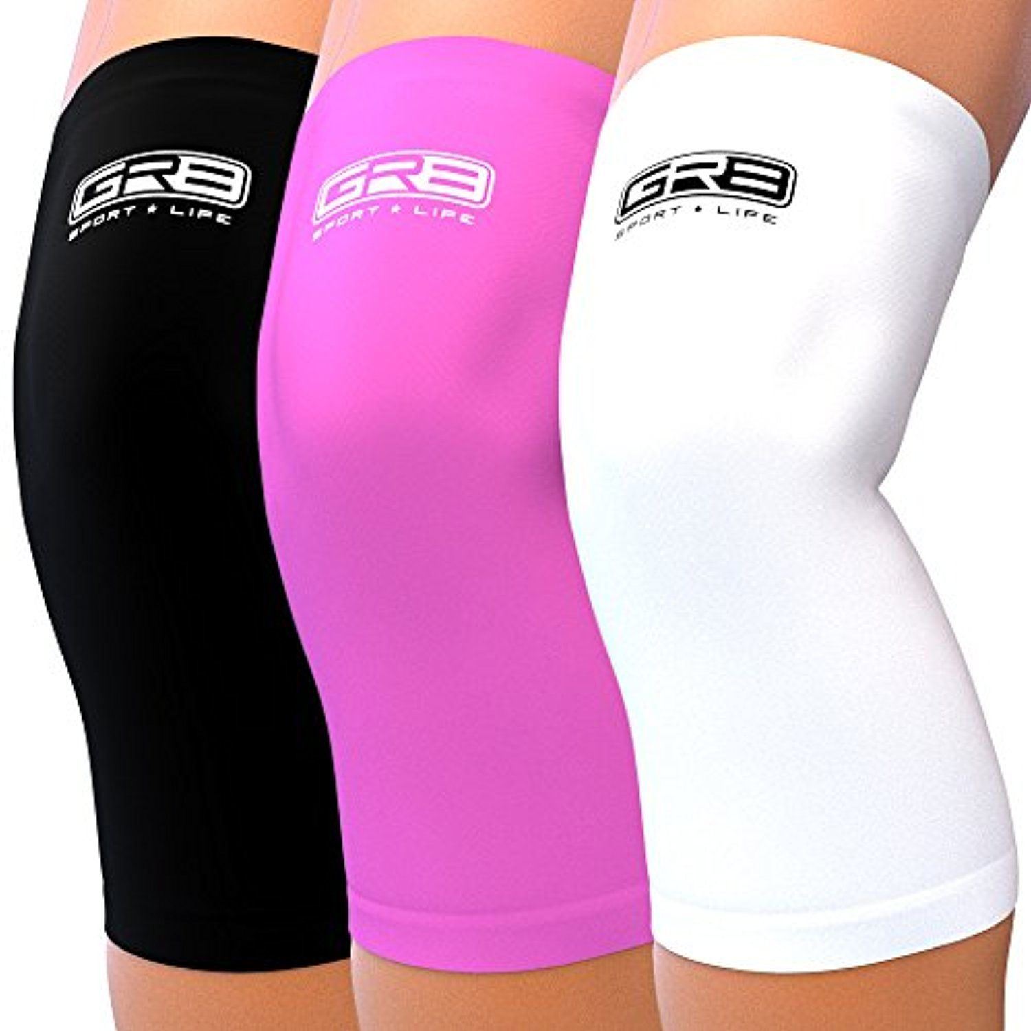 Knee Brace Compression Sleeves Negative Ion Support Crossfit