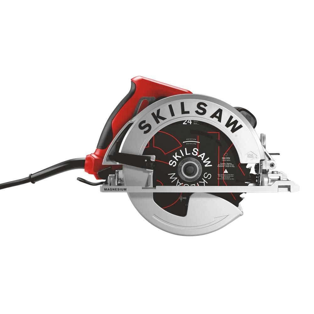 Skilsaw 15 Amp 7 1 4 In Corded Lightweight Sidewinder Saw Best Circular Saw Circular Saw Reviews Circular Saw