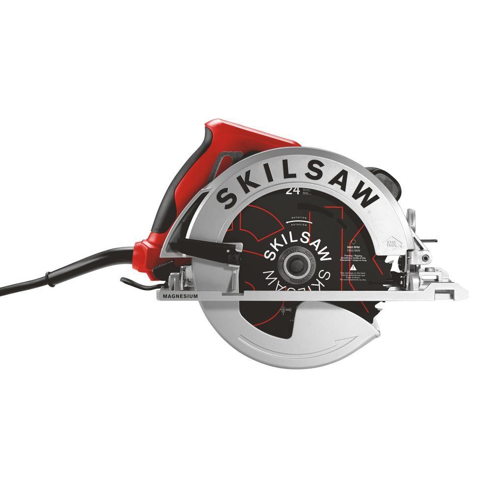 Skilsaw 15 Amp 7 1 4 In Corded Lightweight Sidewinder Saw In 2020 Skil Saw Circular Saws Circular Saw Reviews