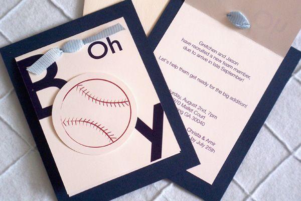 Sports item boy shower invitations boy baby shower ideas sports item boy shower invitations baseball themed baby filmwisefo Choice Image