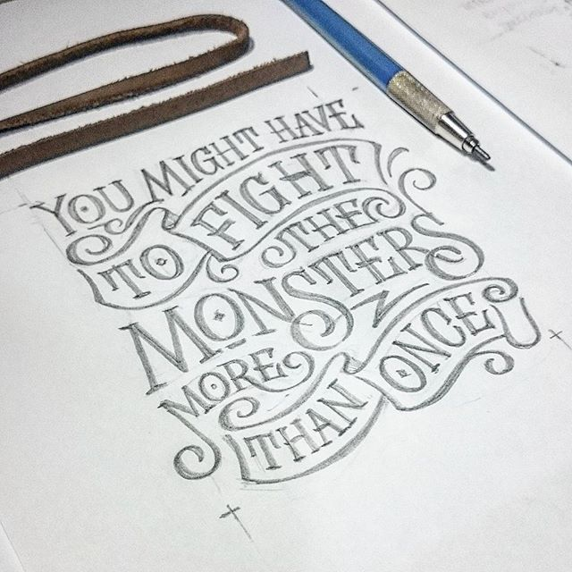 Lettering by Abed Azarya