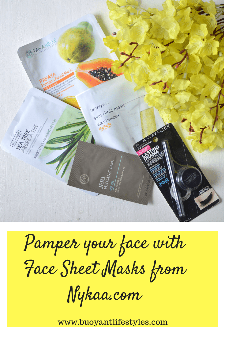 Pamper your face with Face Sheet Masks from