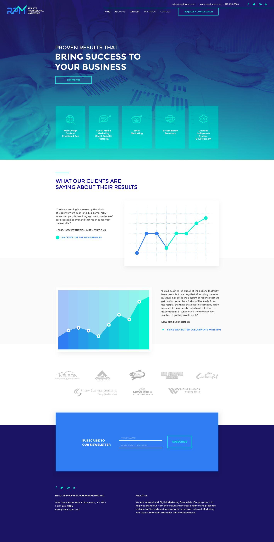 Rpm Homepage Minimal Web Design Creative Web Design Web Design