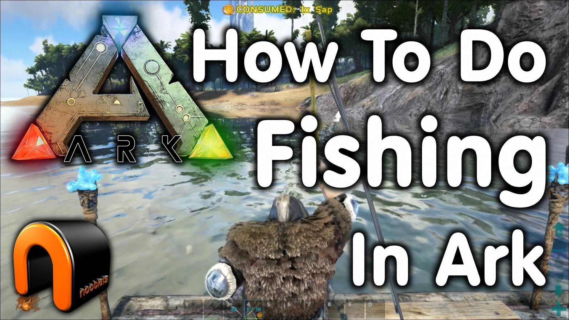 Learn To Fish It S Fun With Images Ark Survival Evolved Tips